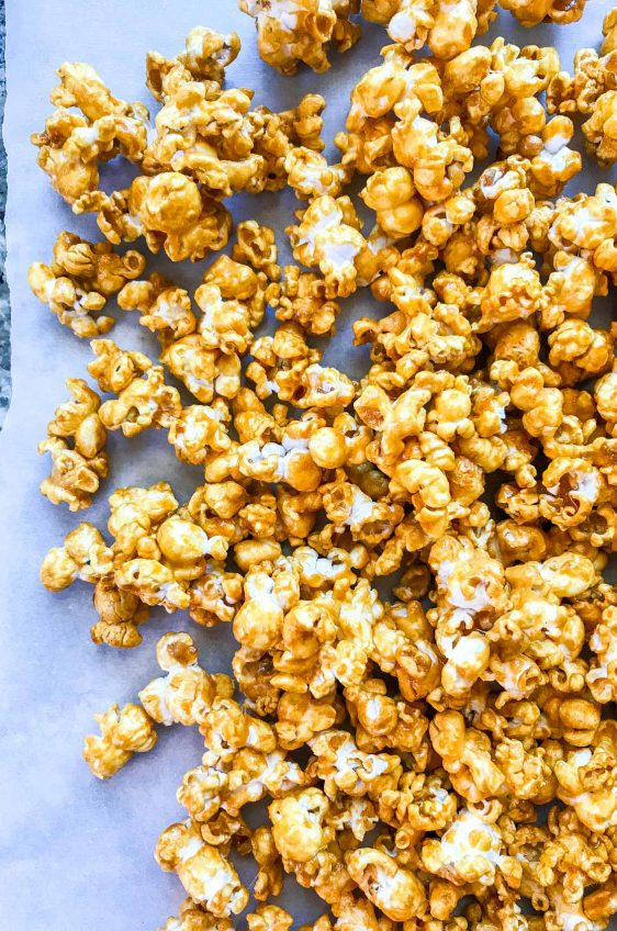 Brown Sugar Bourbon Caramel Corn