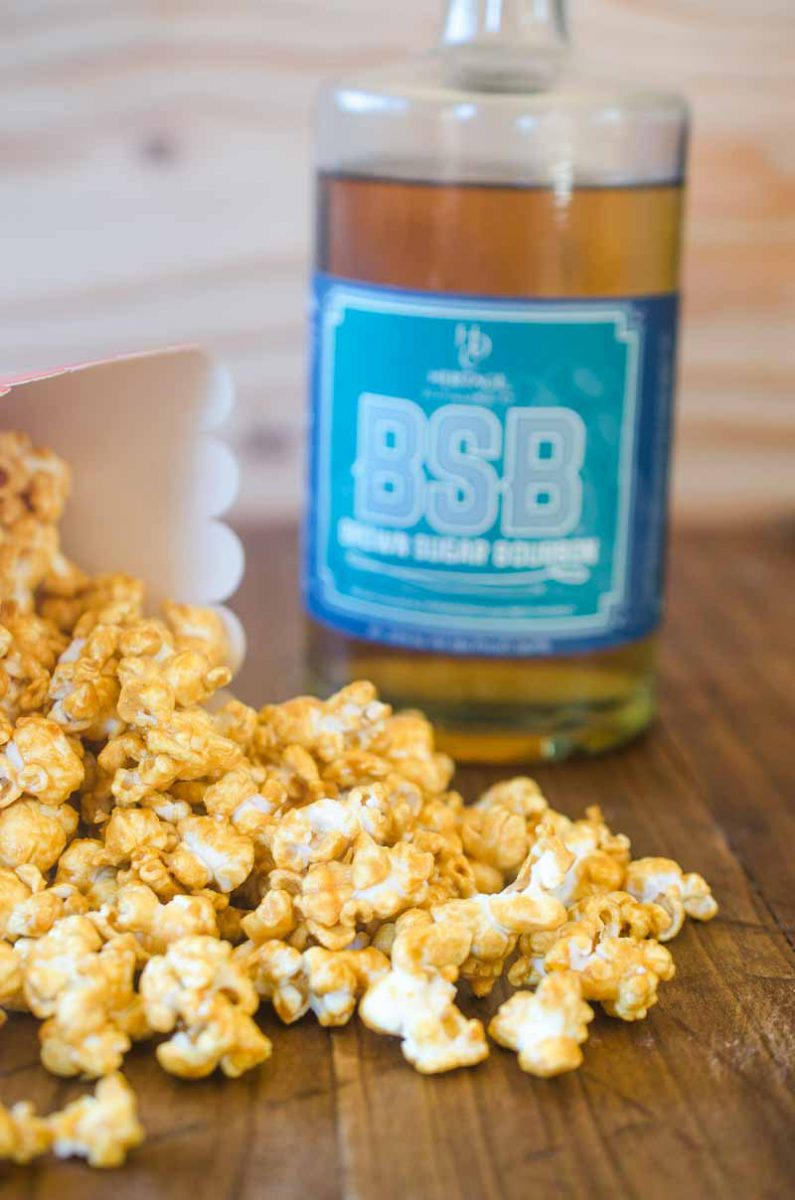 Bourbon Caramel Corn. Baseball snack perfection!