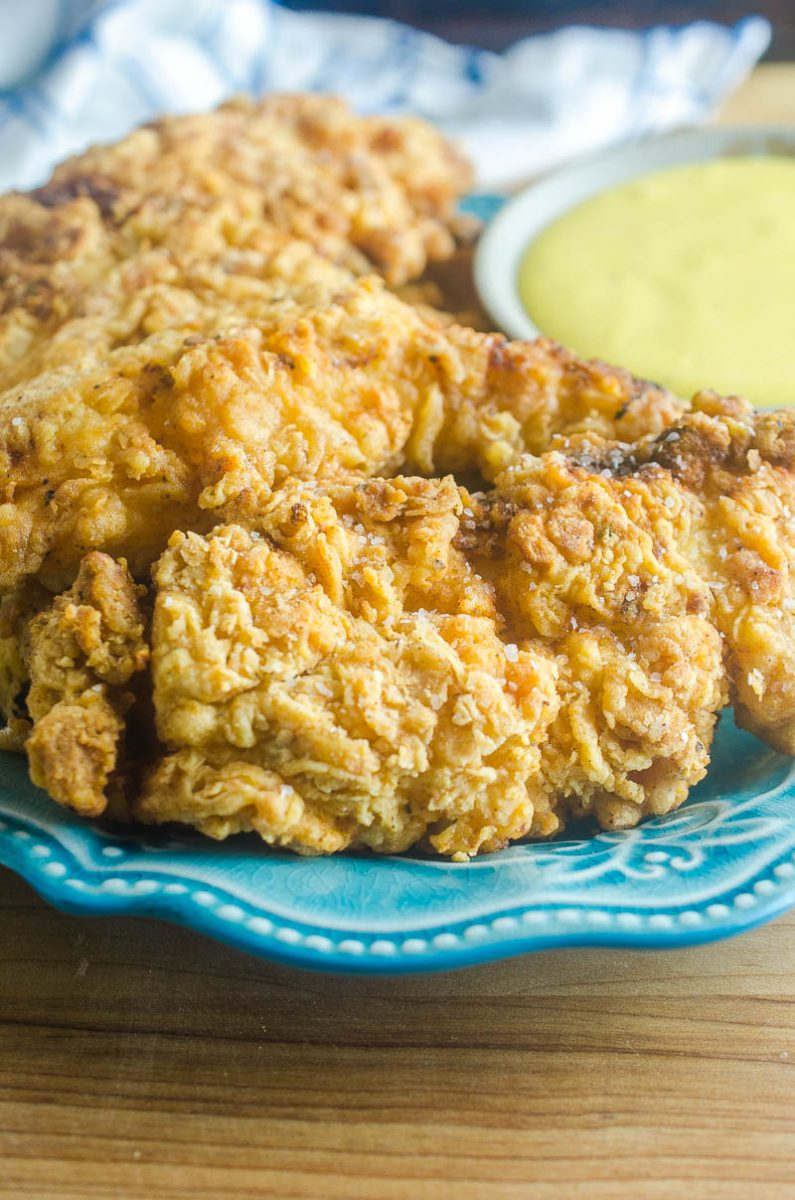 basic, classic crispy chicken tender recipe that the whole family will love.