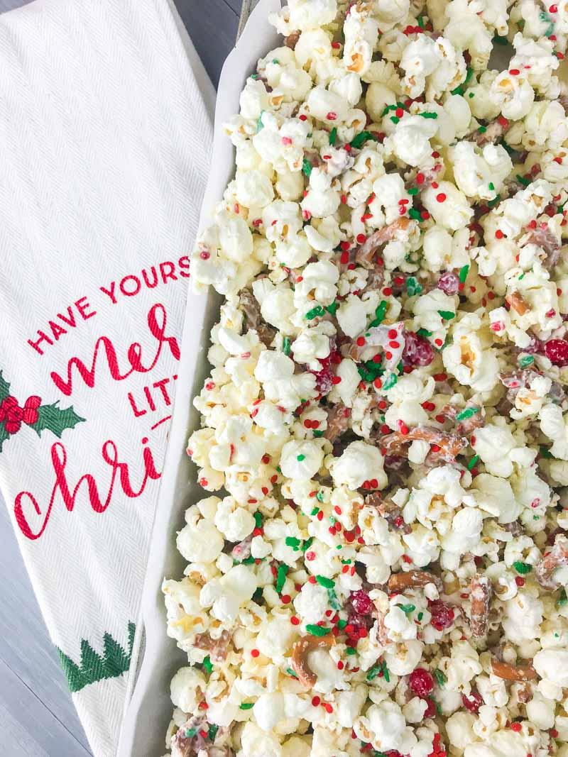 Cinnamon Christmas Popcorn - Life\'s Ambrosia