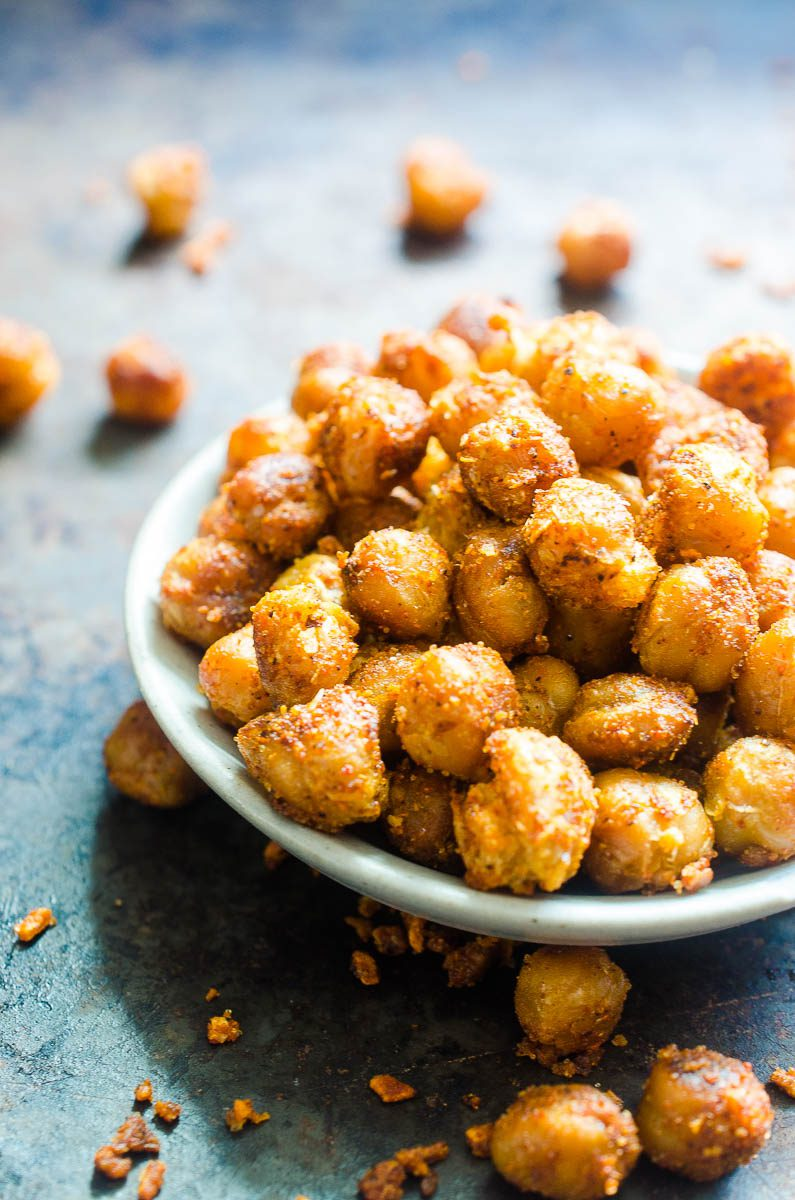 How to make Crispy Chickpeas