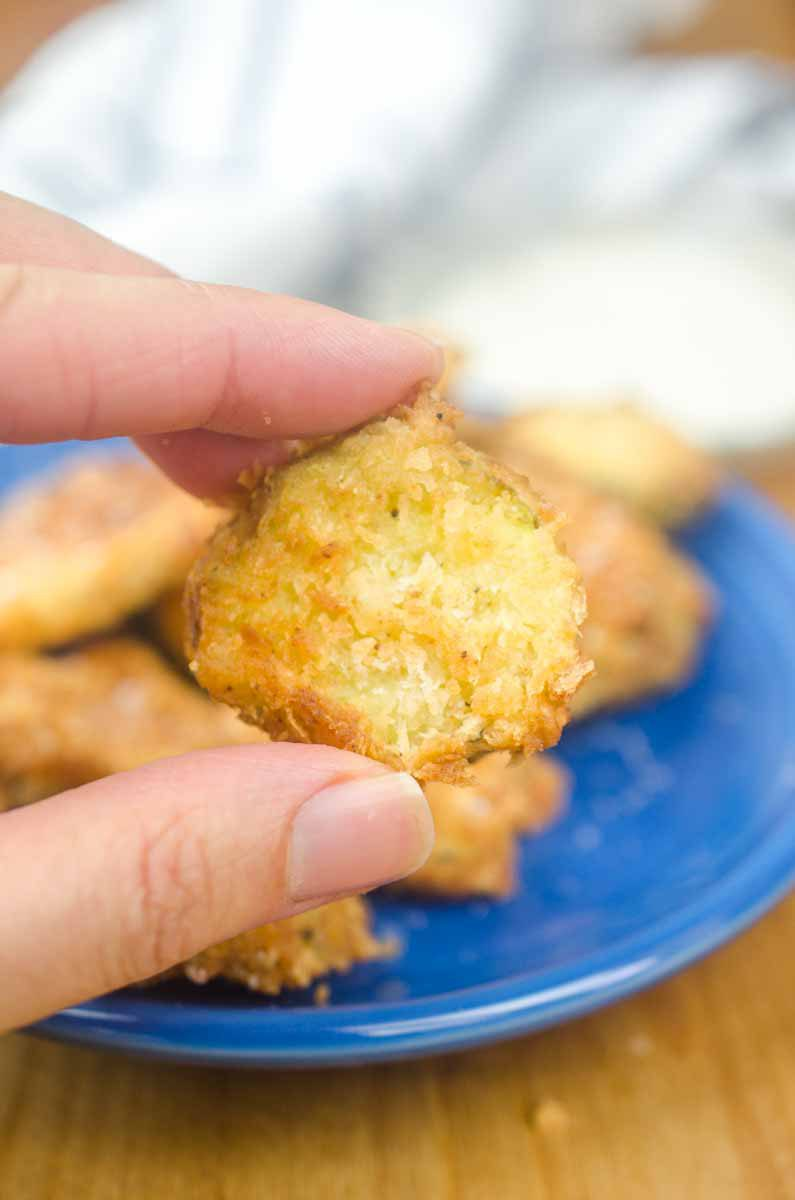 how to cook deep fried pickles