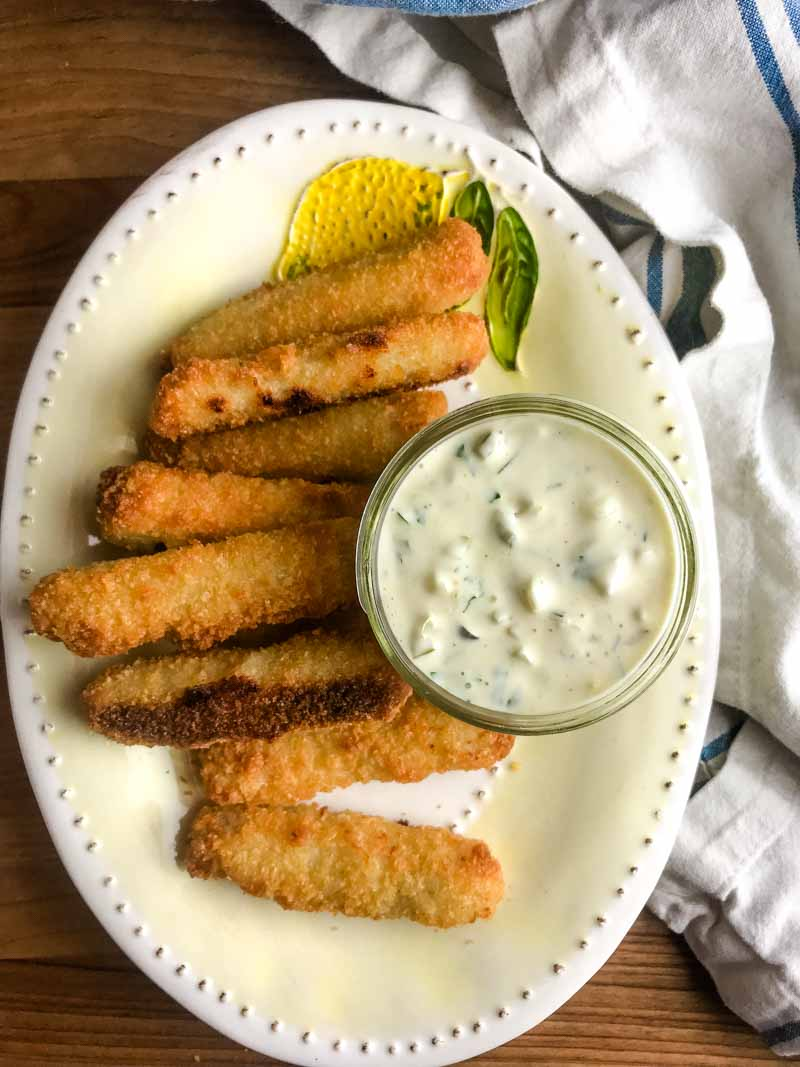 This Tartar Sauce Recipe is beyond easy and not to mention delicious. With just a few ingredients you can make your own and you'll never buy the pre-made stuff again!
