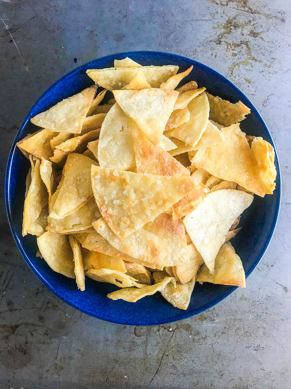 homemade tortilla chips | baked tortilla chips | life's ambrosia