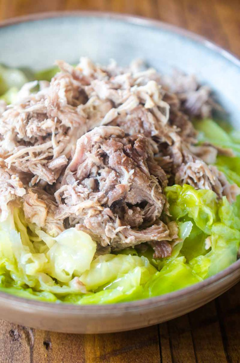 Kalua Pork has never been so fast and easy! This Instant Pot Kalua Pork is ready in under two hours and is pure pork heaven. Great on it's own or in a variety of dishes.