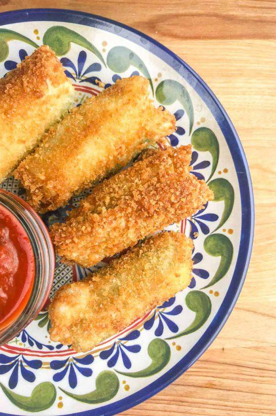 Jalapeno Mozzarella Sticks