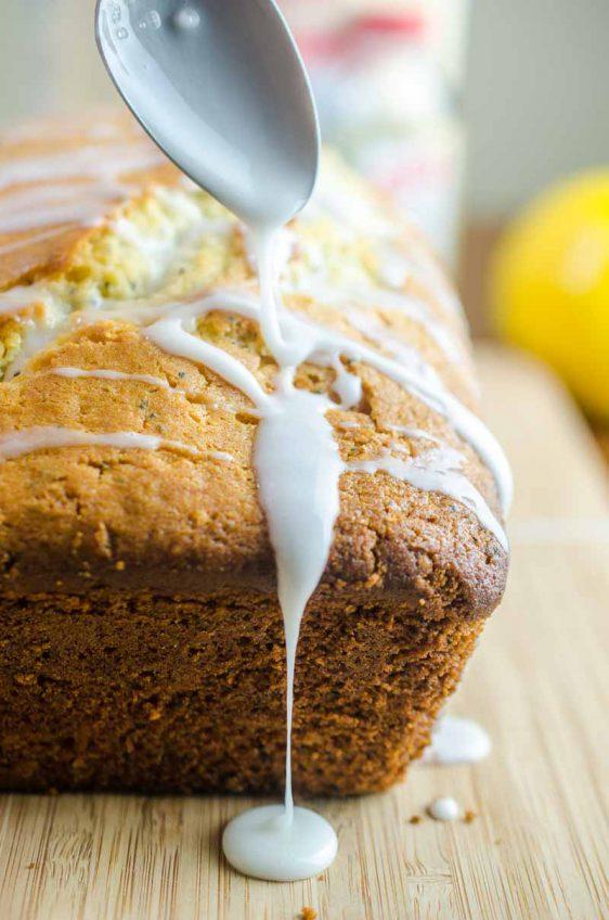 Lemon Poppy Seed Bread #EasterSweetsWeek