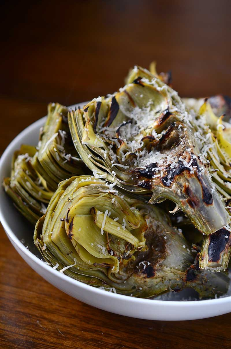 Parmesan Herb Grilled Artichokes Life S Ambrosia