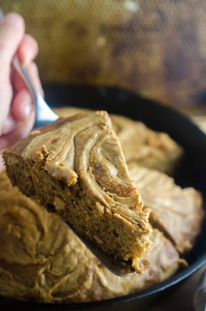 A twist on classic banana bread, this peanut butter banana bread is a must make for peanut butter lovers!
