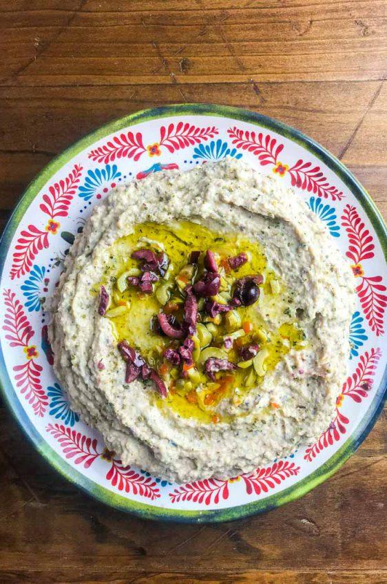 Quick Olive Hummus
