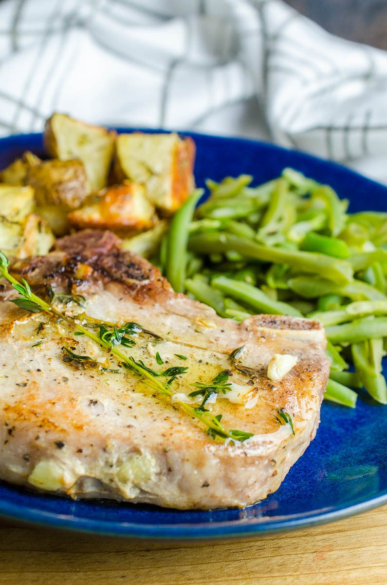 Want to learn how to make Sous Vide Pork Chops? This easy to follow recipe yields juicy, flavorful pork chops that the whole family will love.