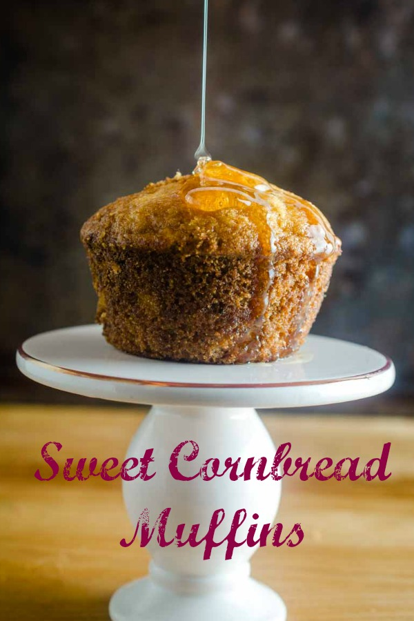 #ad Sweet Cornbread Muffins are tender, moist and have a hint of sweetness. They are a classic for a reason! Serve them with your favorite soup, chili or as a side dish for your holiday meal. #cornbread #sweetcornbread #cornmuffins
