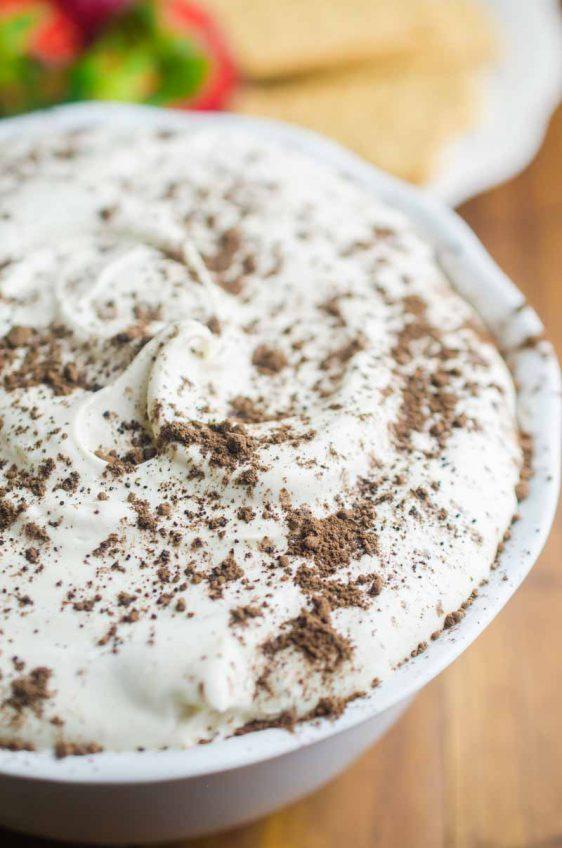 Tiramisu Cheesecake Dip