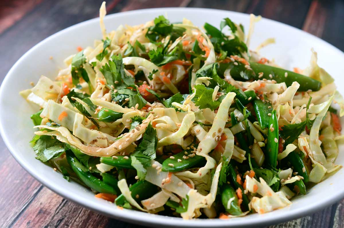 Asian Slaw With Ponzu Dressing Recipes — Dishmaps