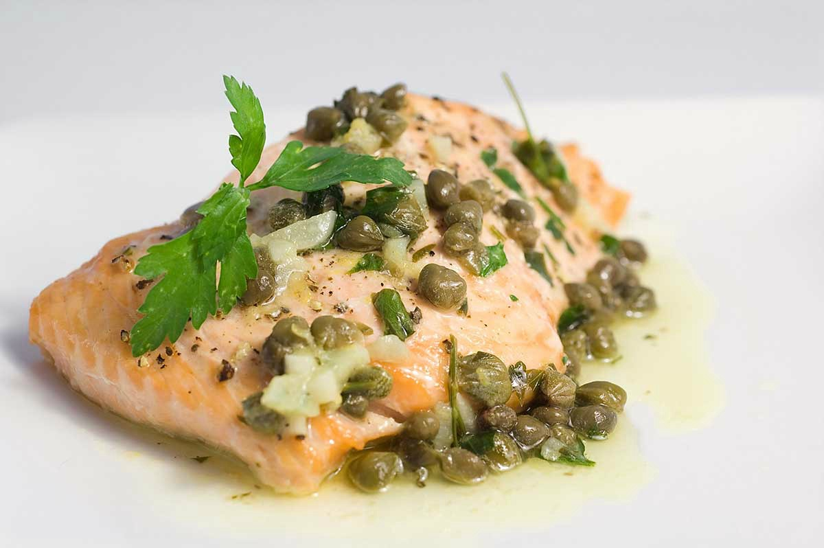 Lemon dill caper butter sauce for Lemon butter caper sauce for fish