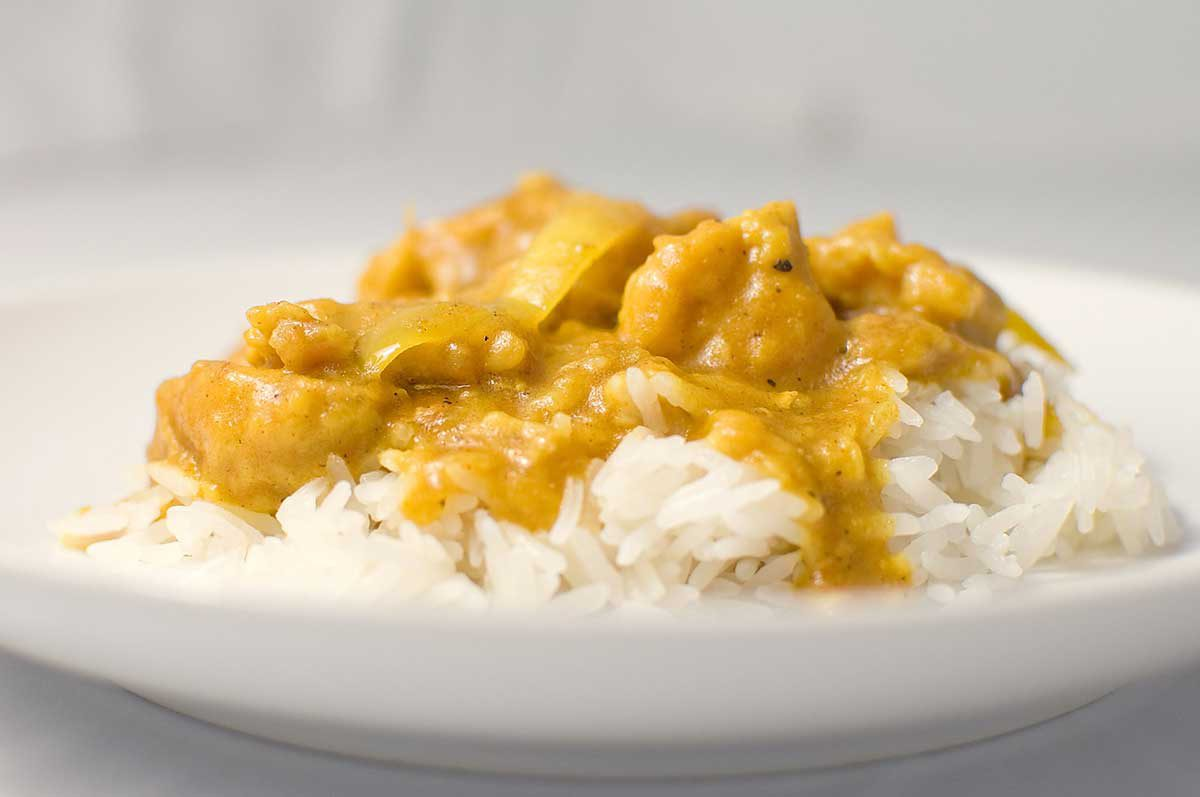 A classic easy chicken curry recipe
