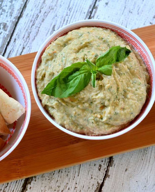 Recipe for Roasted Tomato and Herb White Bean Hummus - Life's Ambrosia ...