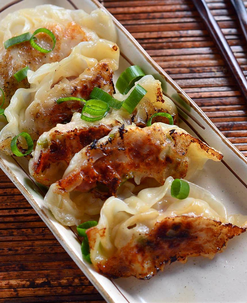 Chicken potstickers, whether they are pan fried potstickers or deep fried, are the most delicious Asian appetizer. Trust me, this simple chicken potstickers recipe will become your favorite!