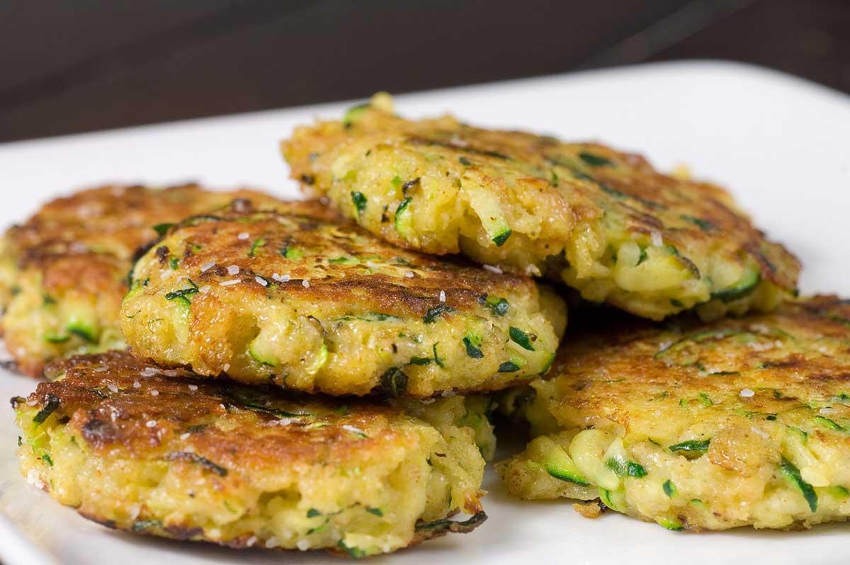 Zucchini Cakes Recipe Zucchini Fritters Life S Ambrosia
